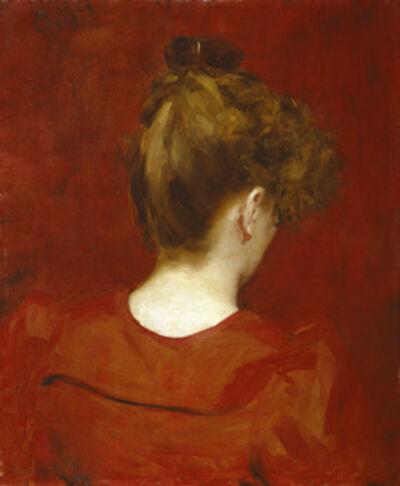 Charles Auguste Émile Carolus-Durand, 'Study of Lilia', 1887