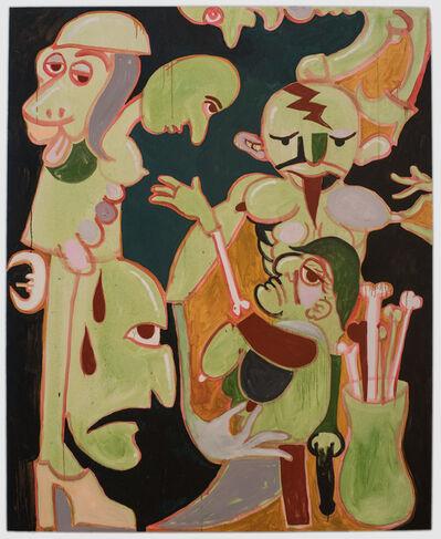 Brian Kokoska, 'Nipple Service (Bone Collector)', 2018