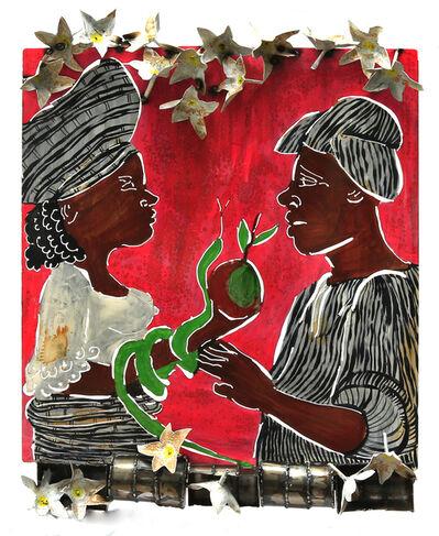 Sokari Douglas Camp, 'Eve's Conversation (Snake), from the Frangipani series ', 2017