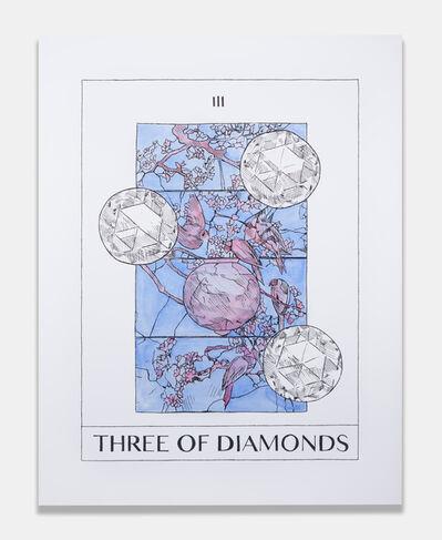 Mieke Marple, 'Three of Diamonds (Mastery)', 2018