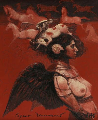 Roberto Fabelo, 'Pegaso Unicornio', 2009