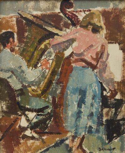 Herbert Barnett, 'Double Bass and Tuba'