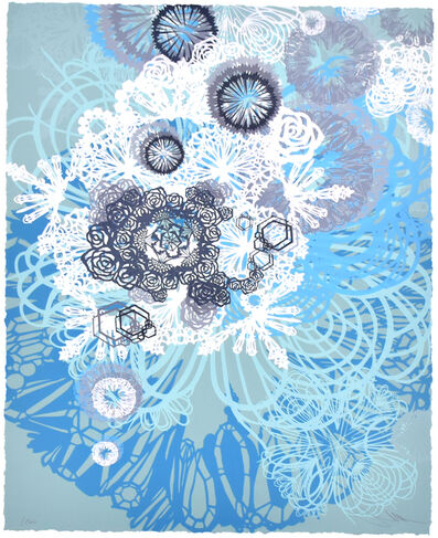 Swoon, 'SNOW BLOSSOMS', 2016