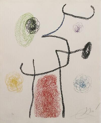 Joan Miró, 'ALBUM 21: ONE PLATE', 1978
