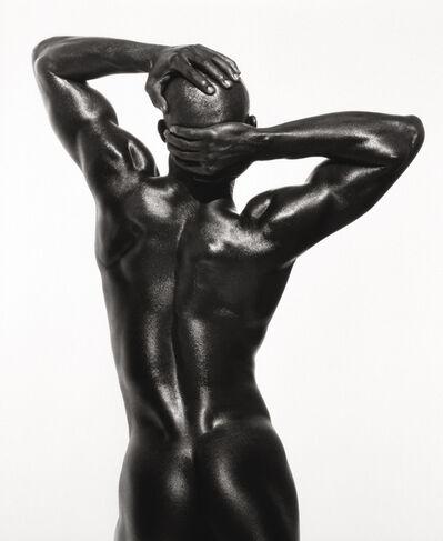 Herb Ritts, 'Djimon - Three Quarter Nude (Back View), 1989'