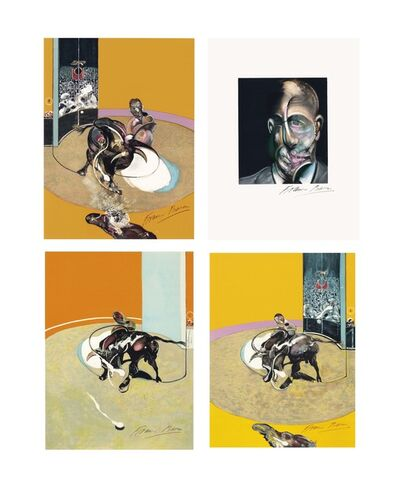 Francis Bacon, 'Miroir de la Tauromachie, Galerie Lelong, Paris, 1990'