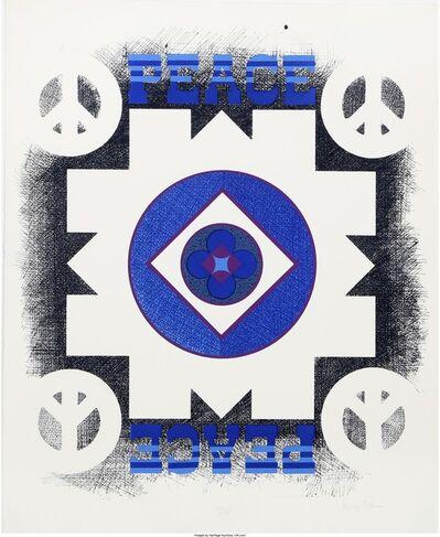 George Earl Ortman, 'Peace', 1970