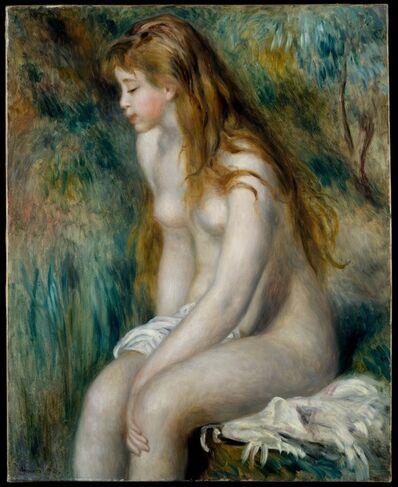 Pierre-Auguste Renoir, 'Young Girl Bathing', 1892