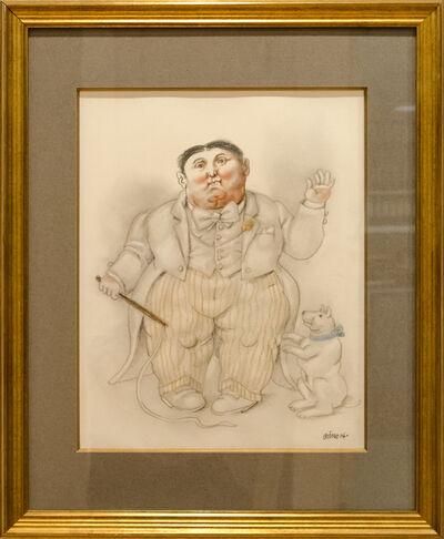 Fernando Botero, 'Dwarf and Dog', 2006
