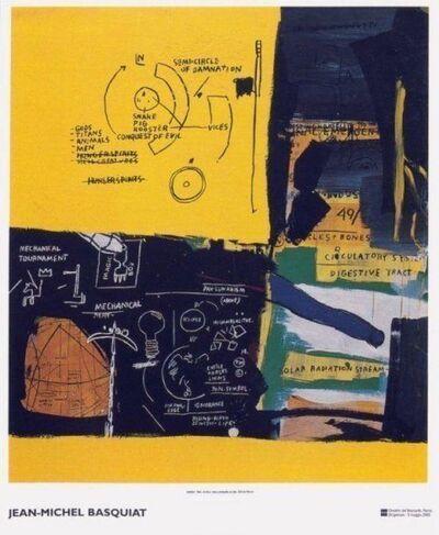 Jean-Michel Basquiat, 'Untitled (1984) exhibition poster', 2002