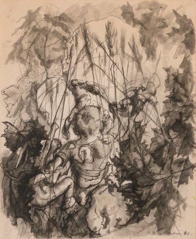Pavel Tchelitchew, 'Boys Fighting in a Wheat Field', 1940