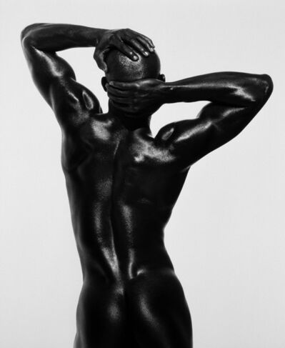 Herb Ritts, 'Djimon Three Quarter Nude, Back View, Hollywood', 1989