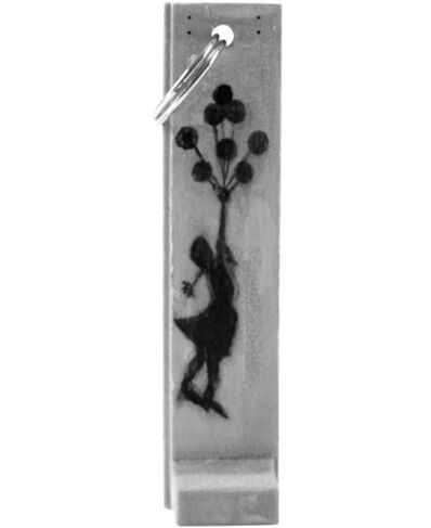 Banksy, 'GIRL WITH BALLOONS SCULPTURE KEY FOB (Walled Off Hotel)', ca. 2017