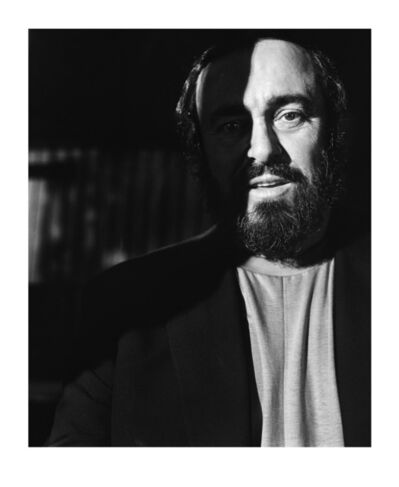 Alastair Thain, 'Luciano Pavarotti', 1989