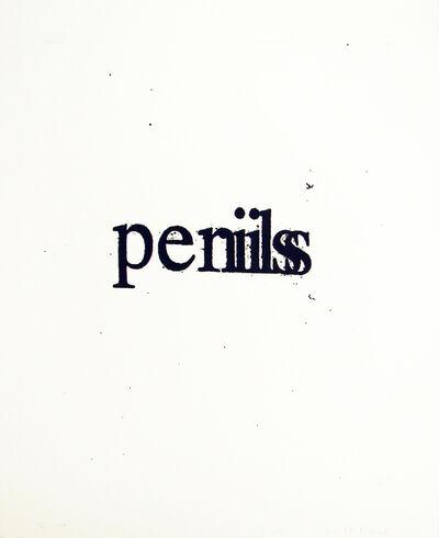 Christopher Wool, 'Perils Penis', 2008
