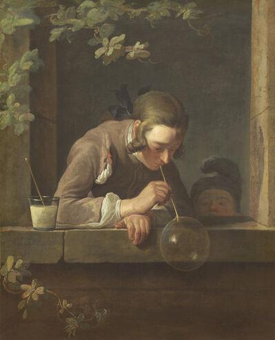 Jean-Siméon Chardin, 'Soap Bubbles', probably 1733/1734