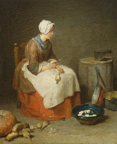Jean-Siméon Chardin, 'The Kitchen Maid', 1738