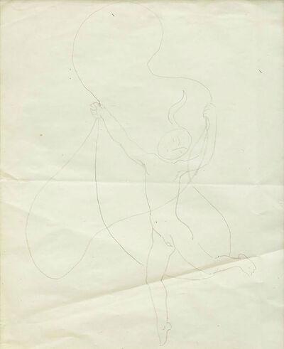 Maria Pinińska-Bereś, 'Untitled (girl with jump rope) ', 1960