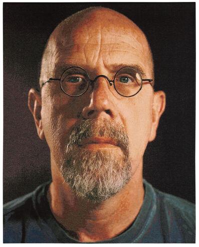 Chuck Close, 'Self-Portrait, Color', 2007