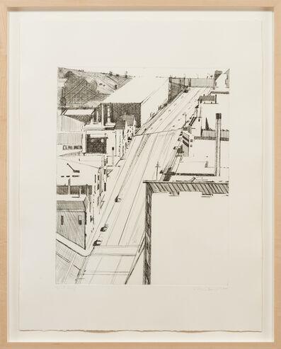 Wayne Thiebaud, 'Down 18th ', 1980