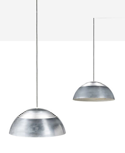 Arne Jacobsen, 'Pair of hanging lamps', 1960