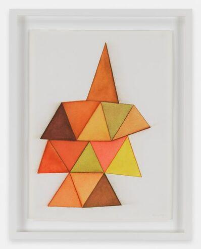 Mira Schendel, 'Untitled (from the series Triangulos)', 1979