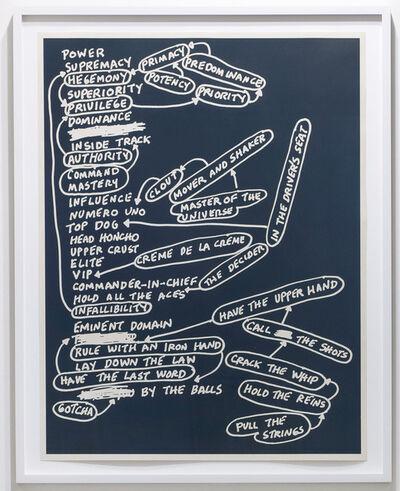 Mel Bochner, 'Power', 2010