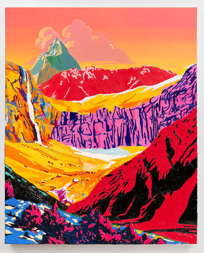Alec Egan, 'Sunset Mountain', 2019
