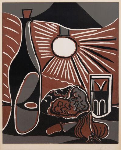 Pablo Picasso, 'Nature morte à la bouteille', 1962