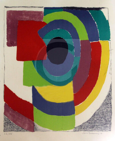 Sonia Delaunay, 'Syncopee', 1971