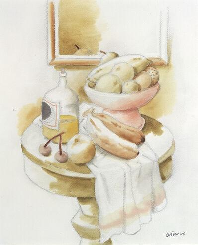 Fernando Botero, 'Nature morte au guéridon', 2006
