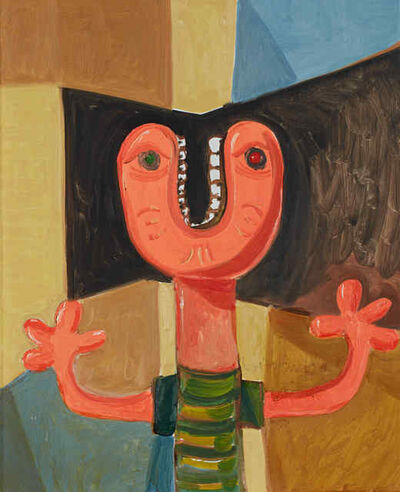 George Condo, 'Unidentified Head ', 1989