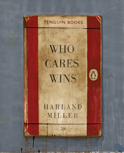 Harland Miller, 'Who Cares Wins limited (edition of 50, 138x110cm)', 2014