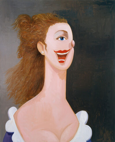 George Condo, 'Portrait of an English Lady', 2008-2009