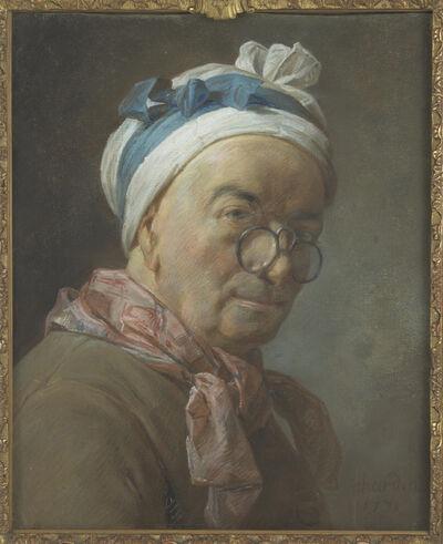 Jean-Siméon Chardin, 'Autoportrait aux besicles (Self-portrait with spectacles)'