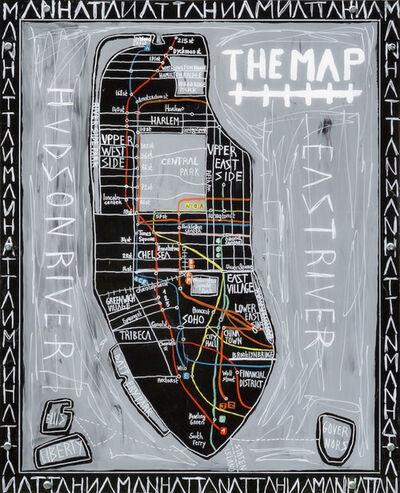Silvia Calmejane, 'Manhattan The Map ', 2018