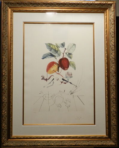 Salvador Dalí, 'FlorDali/Les Fruits Eve's Apple', 1969
