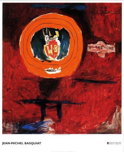 Jean-Michel Basquiat, 'Vitaphone Exhibition Poster'