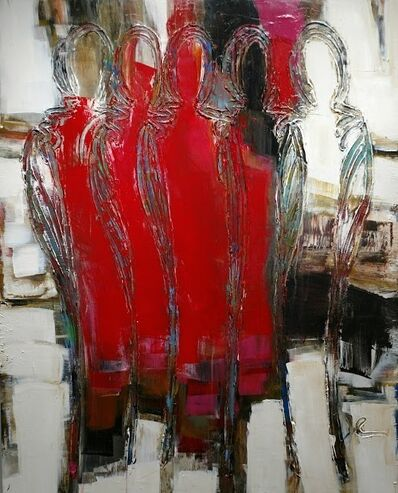 Janet McGreal, 'Paint the Town Red', 2017