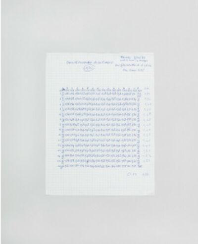 Alberto Sinigaglia, 'Paper I', 2012