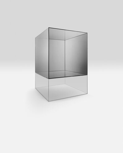 Larry Bell, 'Glass Cube', 1984