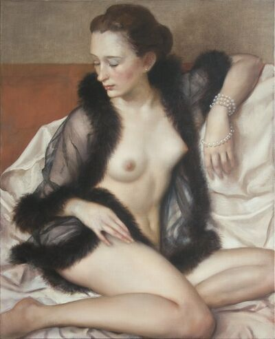 John Currin, 'Mademoiselle', 2009