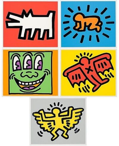 Keith Haring, 'Icons', 1990
