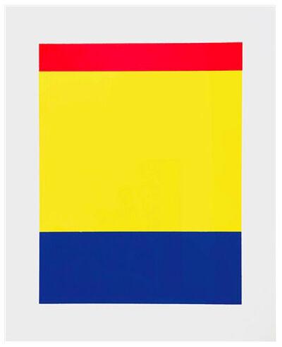 Ellsworth Kelly, 'Red, Yellow, Blue', 2000