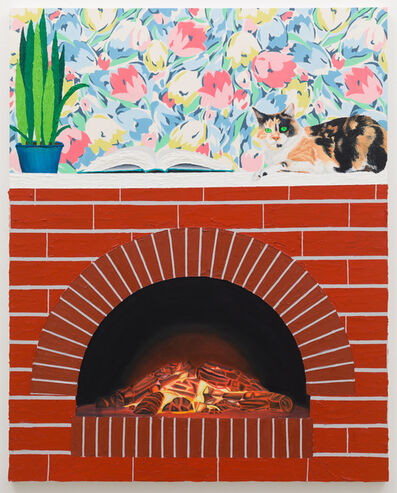 Alec Egan, 'Fireplace', 2019