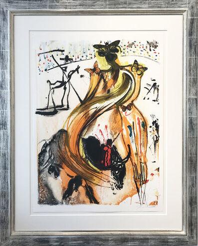 Salvador Dalí, 'Tauromachie Papillons', 1972