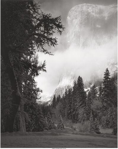 Ansel Adams, 'El Capitan, Sunrise, Winter, Yosemite National Park, California', 1968