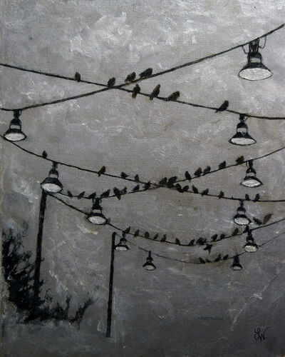 Boo Lynn Walsh, 'The Birds', 2016