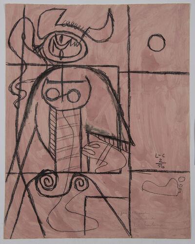 Le Corbusier, 'Taureau (Variante sur le thème Taureau VII)', 1956