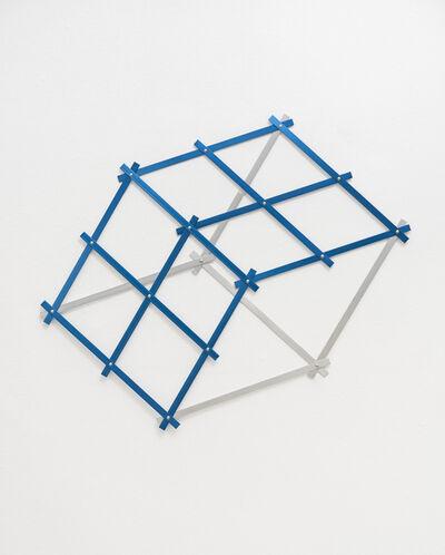 Keila Alaver, 'hexágono azul - da série Polígonos', 2014